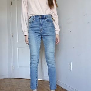 BDG UO TWIG SUPER HIGH RISE DENIM JEANS